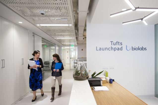 Growing Space for Innovation at Tufts Launchpad