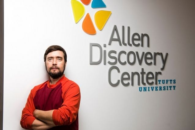 Exploring the boundaries of biology at the Allen Discovery Center at Tufts University